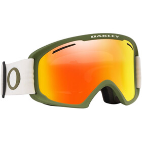 Oakley O Frame 2.0 Pro XL Lumilasit Miehet, green/fire iridium&persimmon